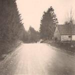 Kärneri loomalaut-tall. Vana kruusatee 1960 aastatel (Priidu Talve foto)